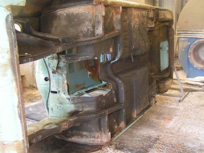 Cortina restoration - Before
