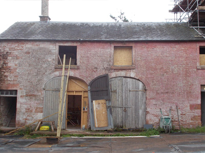 Netherby Hall - Before